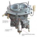 Особенности установки электромагнитного клапана на карбюраторы Солекс и Озон