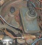 Схема рабочей тормозной системы автомобилей ВАЗ 2108, 2109, 21099