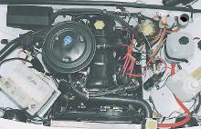 снятие 2105, 2107 Озон с двигателя