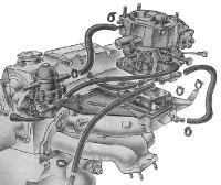 снятие Солекс с двигателя