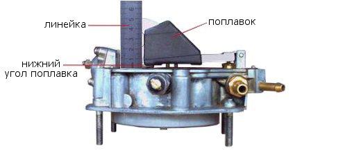 как выставить уровень топлива в карбюраторе ваз 21083 видео