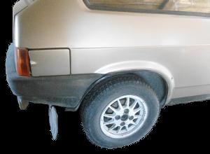 заднее колесо ВАЗ 2108