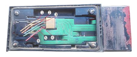 провода заднего фонаря ВАЗ 2108, 2109, 21099