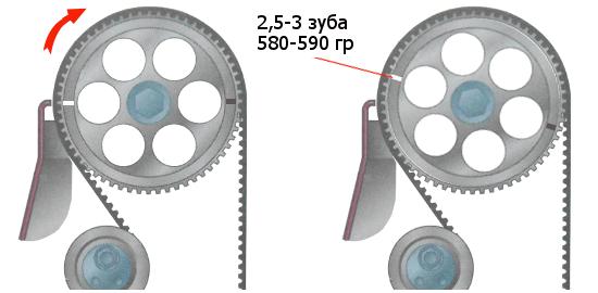 зазор у 4 и 7 клапана