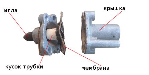 ремонт экономайзера трубкой